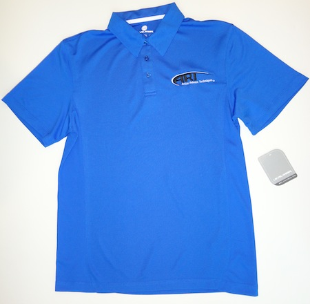 Levelwear Mens First Cut Polo Royal Blue