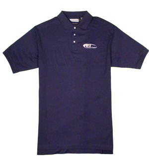 Levelwear Mens Diplomat Cotton Polo in Navy