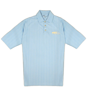 Platinum Tour Drop Needle Polo in Light Blue