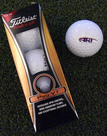 ART Titleist Pro V1 Golf Ball 3-Pack